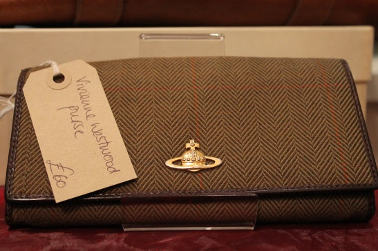 Green Boutique: Vivienne Westwood purse, only £60.00.