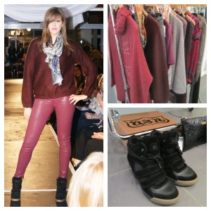 Sam wears, J Brand Jeans, Lily & Lionel Scarf, Ba&Sh Jumper, Ash Shoes