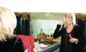 Deryane wears, American Retro Jacket, Chlobo Jewellery, Ba&sh Top