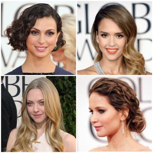 Golden Globe Hair