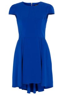 Topshop in the Maltings: Panelling dip-hem dress, £50