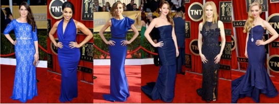 50 shades of Blue indeed. Hollywood glamour at it's best.