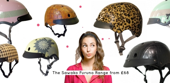 The choice for helmets is endless. What tickles your fancy?